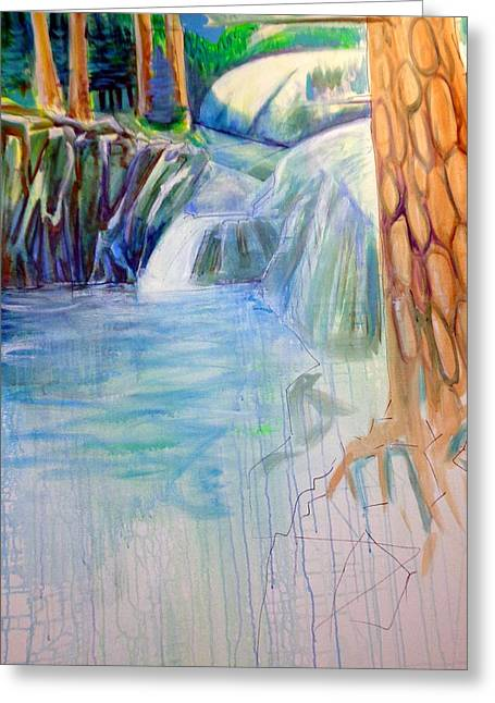 Stream Greeting Cards - On The Middle Fork Greeting Card by Steven Holder