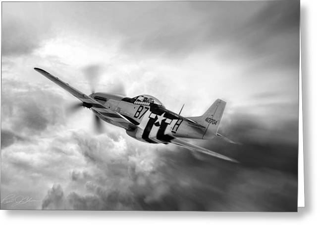 North American Aviation Greeting Cards - On The Move Greeting Card by Peter Chilelli