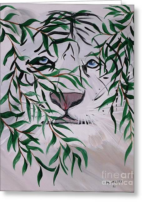 On The Prowl Greeting Card by Mark Moore
