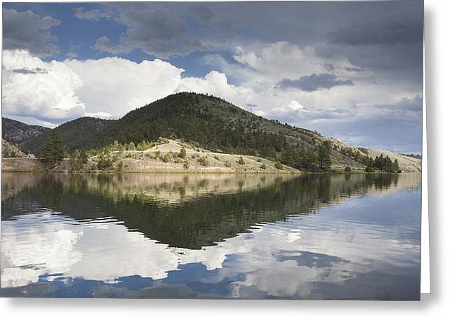 Canyon Ferry Lake Greeting Cards - On the Road to York Greeting Card by Fran Riley