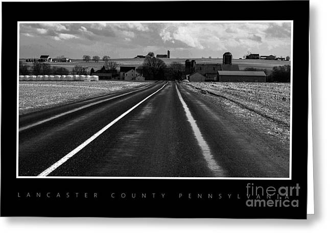 On The Road Greeting Card by Vilas Malankar
