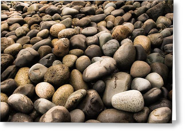 Beaches In Washington Greeting Cards - On the Rocks Greeting Card by Crystal Lynn Hoeveler