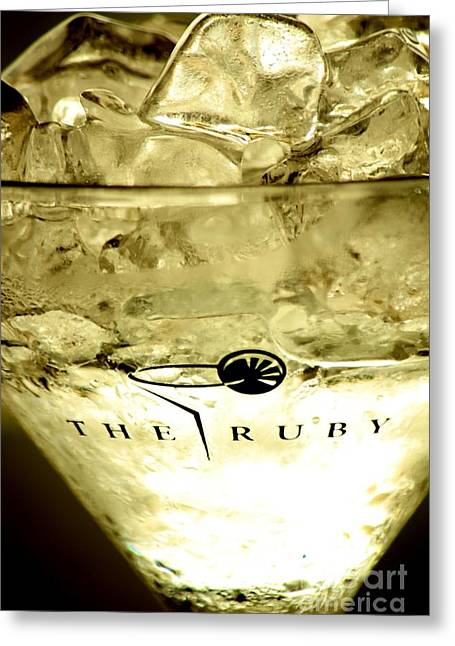 Absolut Greeting Cards - On the Rocks Greeting Card by Rene Triay Photography