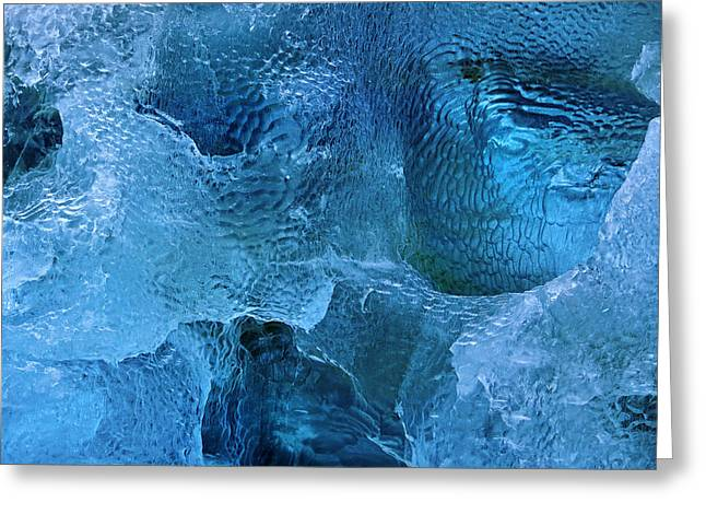 Cavern Greeting Cards - On the Rocks Greeting Card by Tony Beck