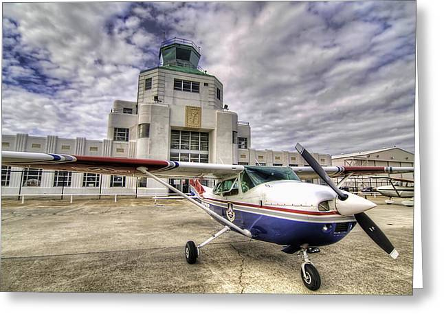 Aviation Greeting Cards - On the Tarmac Greeting Card by Tim Stanley