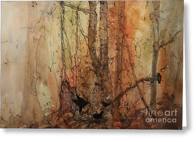 Elizabeth Carr Greeting Cards - On The Verge Greeting Card by Elizabeth Carr