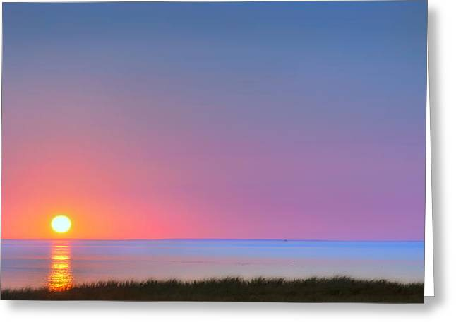 New England Coast Greeting Cards - On the Water Greeting Card by Bill  Wakeley