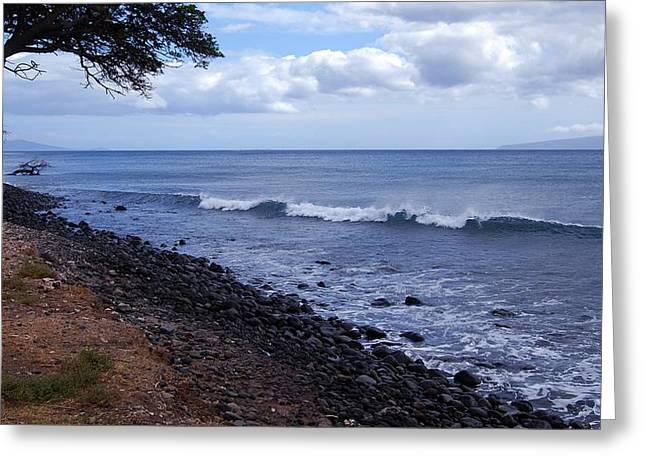 Lahaina Greeting Cards - On The Way To Lahaina Greeting Card by Roy Williams