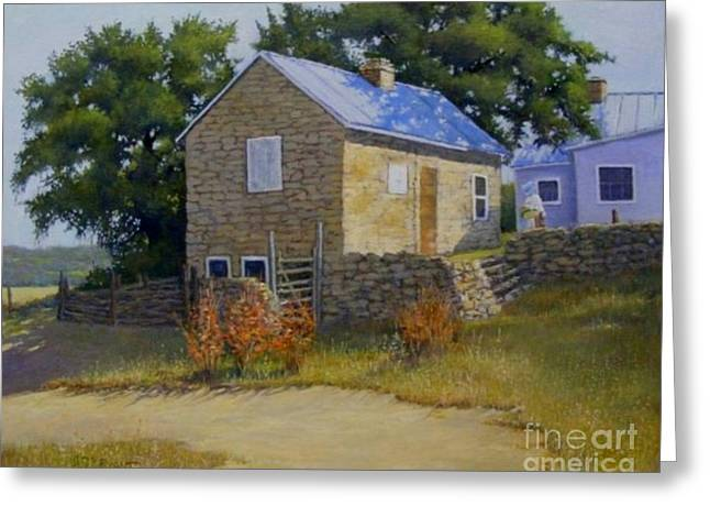 Bryant Paintings Greeting Cards - On the Way to the Kitchen Greeting Card by Herb Bryant