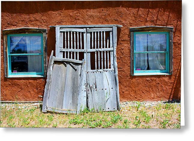 New To Vintage Photographs Greeting Cards - Once Lived In Greeting Card by Lanita Williams