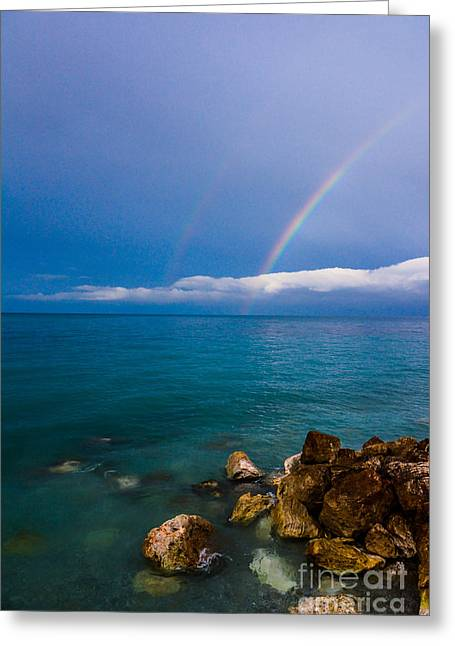 Warm Tones Greeting Cards - Once the storm is over  Greeting Card by Dimitris Vasileias
