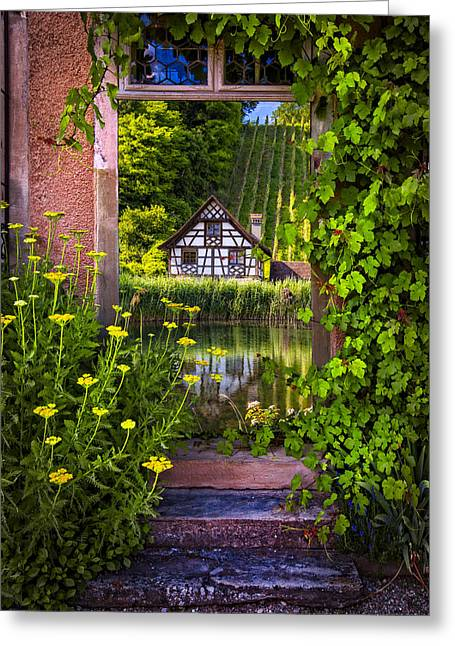 Storybook Greeting Cards - Once Upon a Time Greeting Card by Debra and Dave Vanderlaan