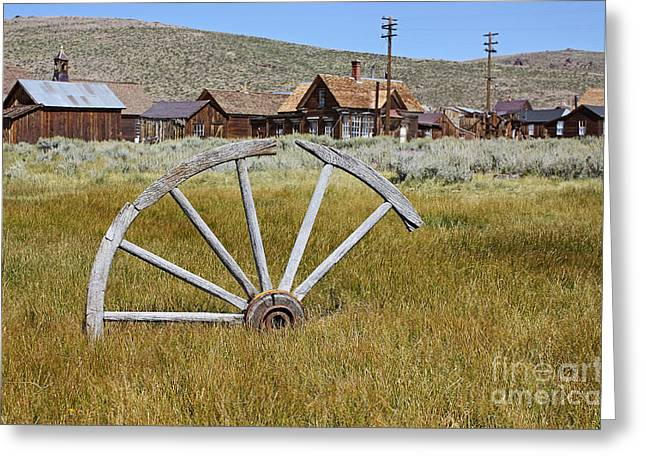 Old West Towns In California Greeting Cards - once upon a time III  Greeting Card by Meleah Fotografie