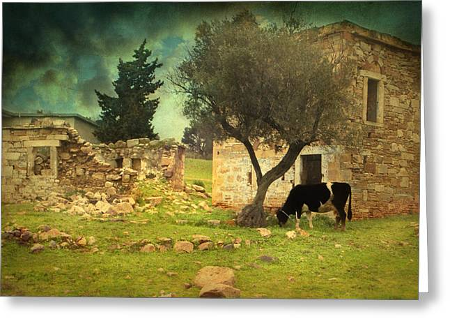 Once upon a time in Phokaia  Greeting Card by Taylan Soyturk