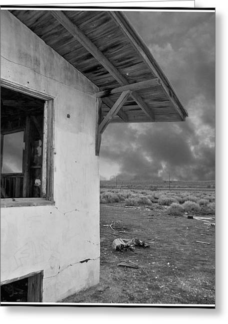 Overhang Greeting Cards - Once Upon A Time In The Desert... Greeting Card by Glenn McCarthy Art and Photography