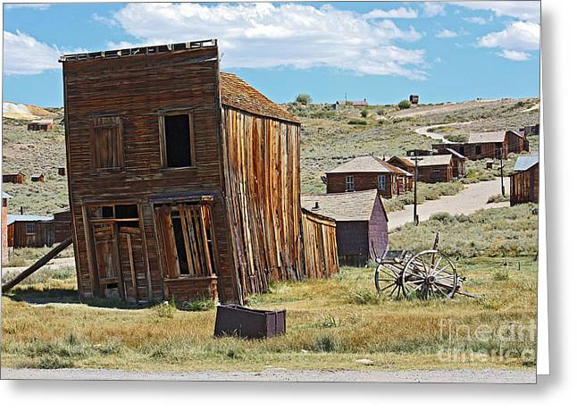 Old West Towns In California Greeting Cards - once upon a time VII Greeting Card by Meleah Fotografie