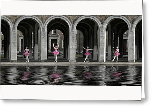 Ballet Dancers Greeting Cards - One Ballerina Greeting Card by Keith Furness