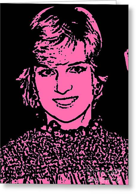 One Diana Greeting Card by Cadence Spalding