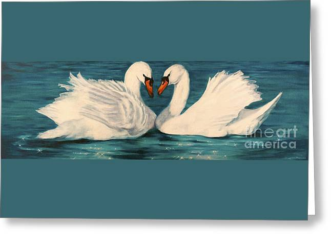 Inspirational Wildlife Prints Greeting Cards - One Heart Greeting Card by Jeanette Sthamann