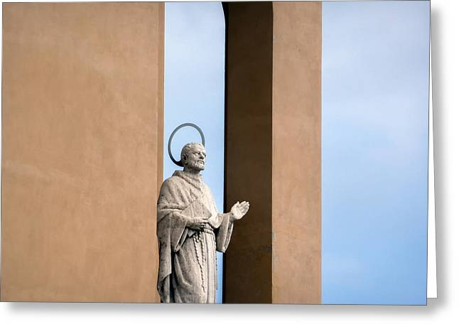 Symbolic Gesture Greeting Cards - One love.. Greeting Card by A Rey