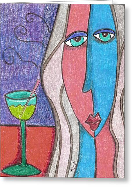 Many Drawings Greeting Cards - One More  Greeting Card by Ray Ratzlaff