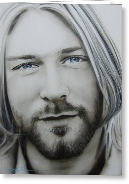 Kurt Greeting Cards - One More Special Message to Go Greeting Card by Christian Chapman Art