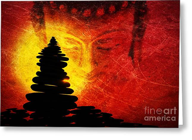 Spirituality Photographs Greeting Cards - One Stlll Moment Greeting Card by Tim Gainey