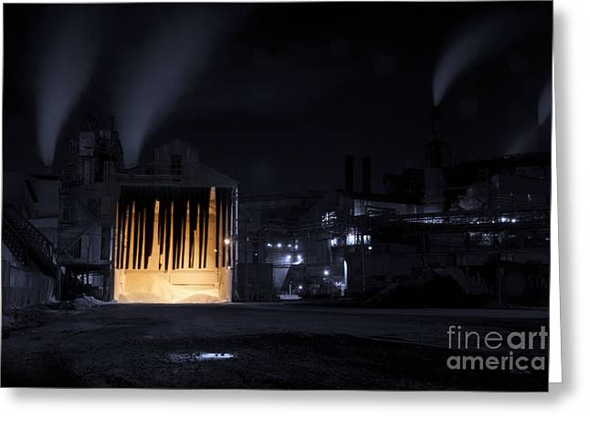 Manufacturing Photographs Greeting Cards - One Two Freddys Coming For You Greeting Card by Juli Scalzi