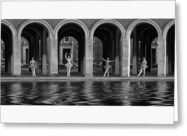 Ballet Dancers Greeting Cards - One x Ten Greeting Card by Keith Furness