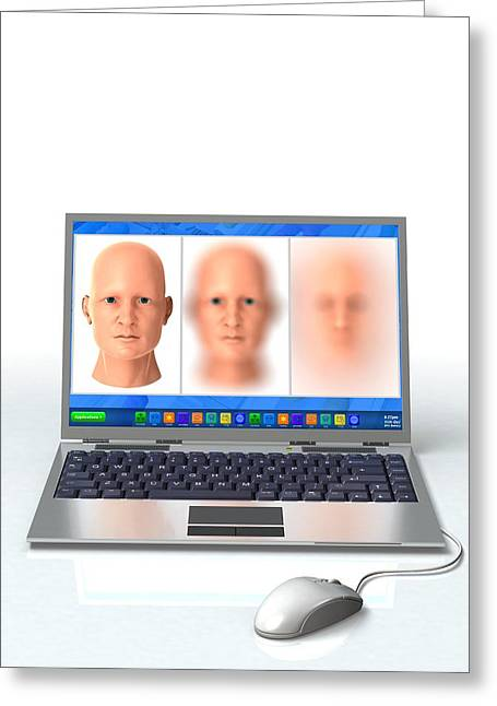 Identity Virtual Greeting Cards - Online identity theft, conceptual Greeting Card by Science Photo Library
