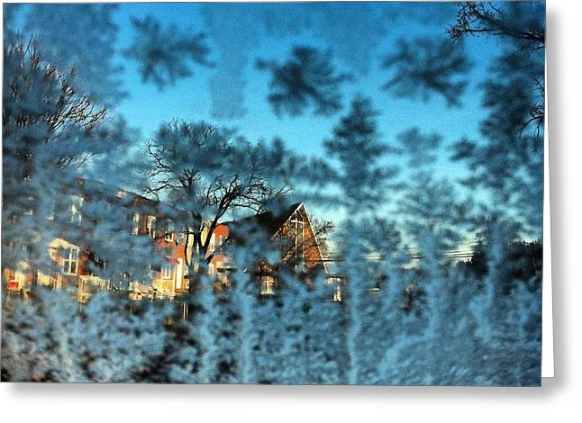 Toni Martsoukos Greeting Cards - Only Glass Greeting Card by Toni Martsoukos