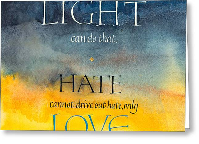 Only Love Greeting Card by Barbara Yale-Read