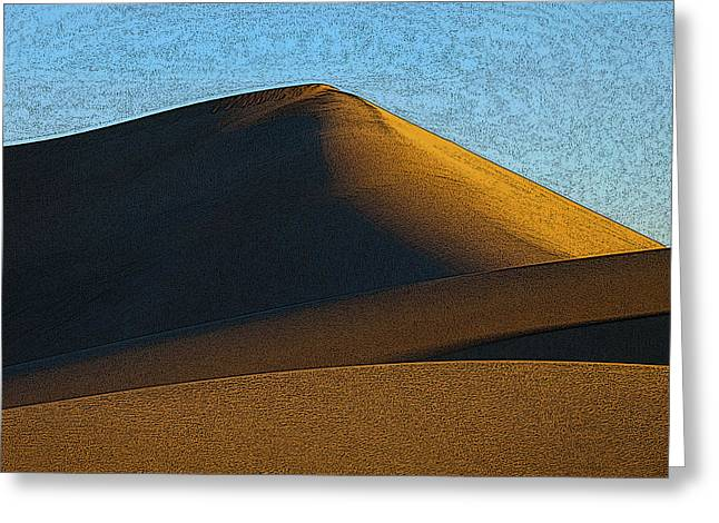 Sahara Sunlight Greeting Cards - Only Mad Dogs and Englishmen Greeting Card by Joe Schofield