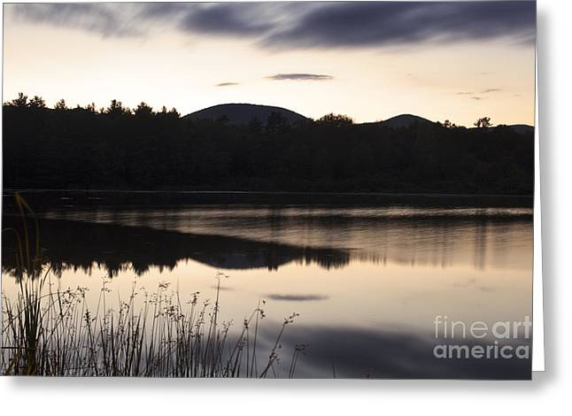 Western Ma Greeting Cards - Onota Lake Greeting Card by Jonathan Welch