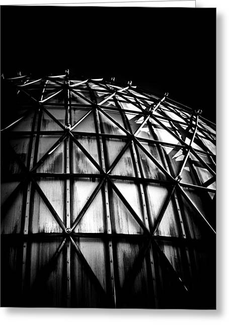 Outdoor Theater Greeting Cards - Ontario Place Cinesphere 2 Toronto Canada Greeting Card by Brian Carson