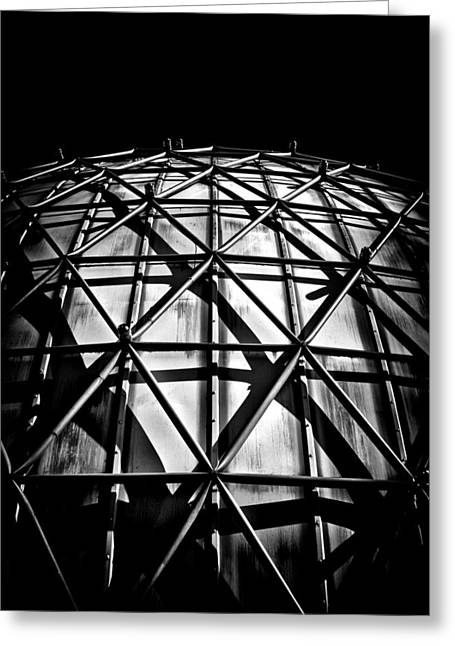 Outdoor Theater Greeting Cards - Ontario Place Cinesphere 3 Toronto Canada Greeting Card by Brian Carson