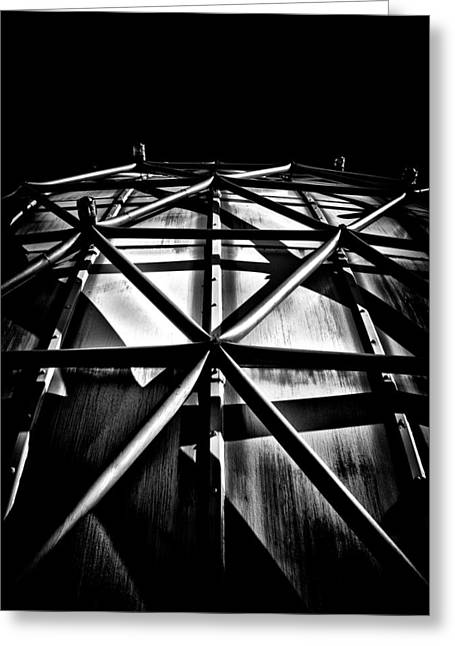 Outdoor Theater Greeting Cards - Ontario Place Cinesphere 4 Toronto Canada Greeting Card by Brian Carson