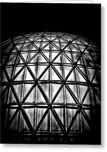 Outdoor Theater Greeting Cards - Ontario Place Cinesphere 5 Toronto Canada Greeting Card by Brian Carson