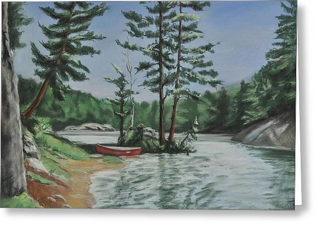Portage Pastels Greeting Cards - Ontarios Jewel Greeting Card by Heather Kertzer
