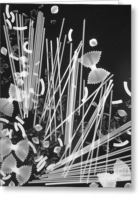 Spaghetti Noodles Greeting Cards - Oodles of Noodles #3 Greeting Card by Robert ONeil