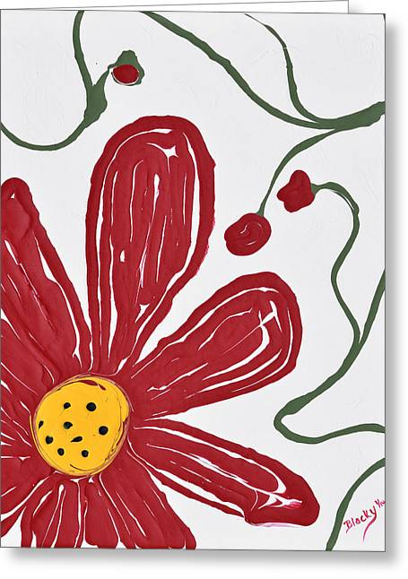 Oopsy Daisy Greeting Card by Donna Blackhall