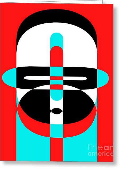Op Art Photographs Greeting Cards - Pop Art People 3 Greeting Card by Edward Fielding