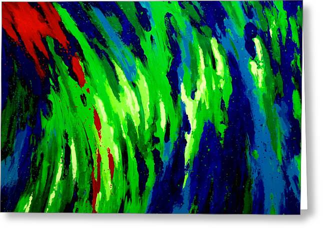 Beauty Mark Greeting Cards - Opal Dream Greeting Card by Mark Antum