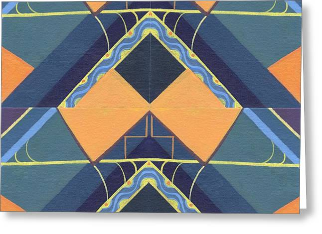 Constant Change Greeting Cards - Open Channels - TJOD X X I I Arrangement Greeting Card by Helena Tiainen