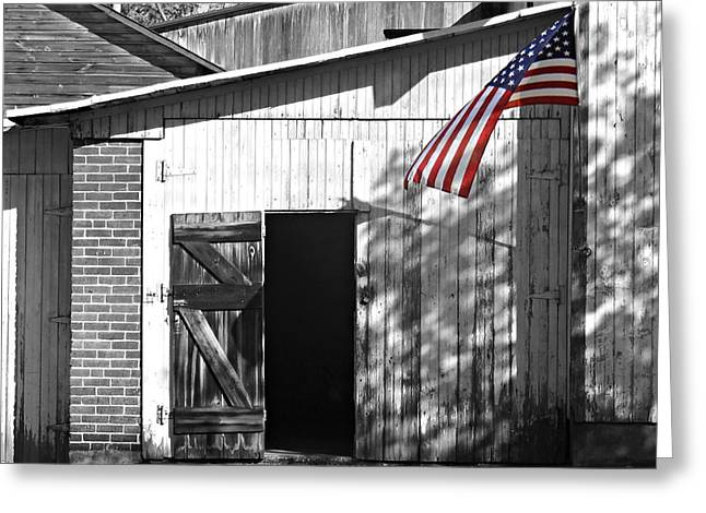 Us Open Photographs Greeting Cards - Open Door Greeting Card by Brenda Conrad