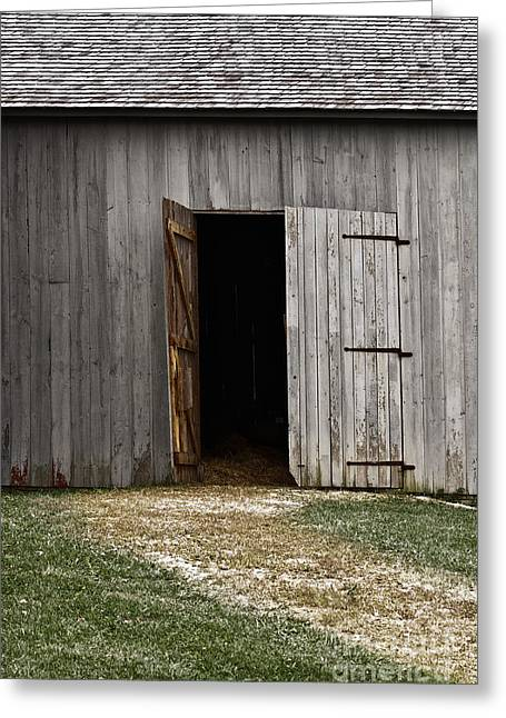 Entrance Door Greeting Cards - Open Doorways Greeting Card by Margie Hurwich