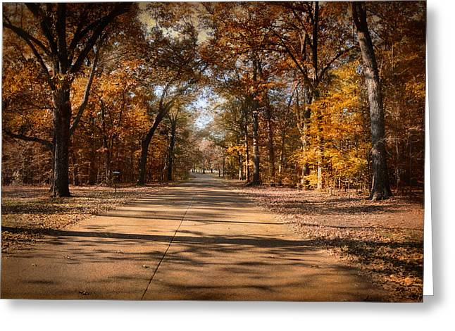 Autumn Scenes Greeting Cards - Open For Beauty Greeting Card by Jai Johnson
