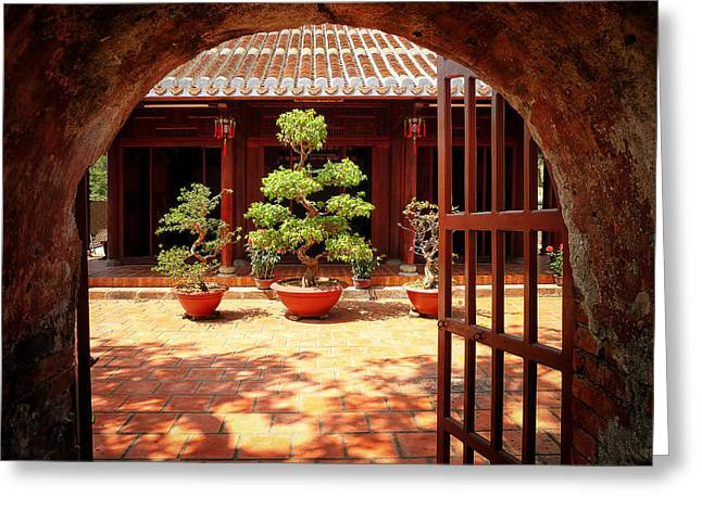Open Gate Greeting Card by Kim Andelkovic