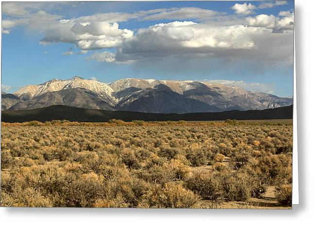 Home Of The Spirit Greeting Cards - Open Range Greeting Card by Ron  Romanosky