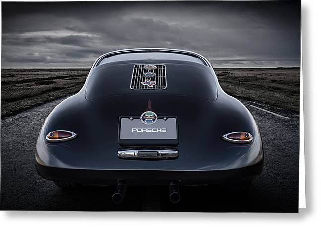 Sportscar Greeting Cards - Open Road Greeting Card by Douglas Pittman